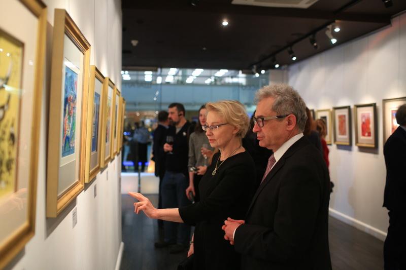 Посол Республики Польша в РФ Влодзимеж Александэр Марчиняк с супругой