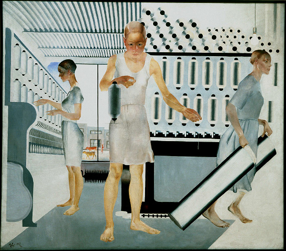 Номинация «Выставка года». «Революция. Русское искусство 1917–1932 годов» в Королевской академии художеств в Лондоне. Александр Дейнека «Текстильщицы», 1927 ГРМ