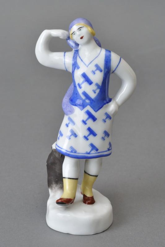 """Н.Я. Данько """"Скульптура """"Плясунья"""" 1929"""