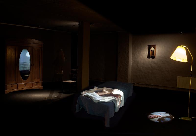"""Катрина Нейбурга """"Память вещей"""" 2012 Инсталляция"""
