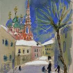 """Т.А. Маврина """"Кадаши. Москва"""" 1944"""