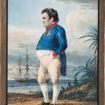 """Александр Орловский """"Император Наполеон I Бонапарт на острове Святой Елены за два месяца до смерти"""" 1823"""