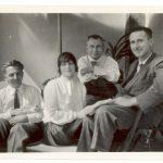 Эрвин Пискатор, Карола Неер, Герберт Иеринг, Бертольт Брехт. 1929