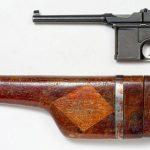 Пистолет маузер К-96, модели 1912 года с кобурой
