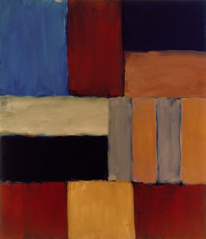 """Шон Скалли """"Стена светло-голубого Чёрного моря"""" 2009"""