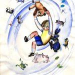 """Федор Лемкуль """"Иллюстрация к сборнику английской литературной сказки """"Once upon a time …"""""""