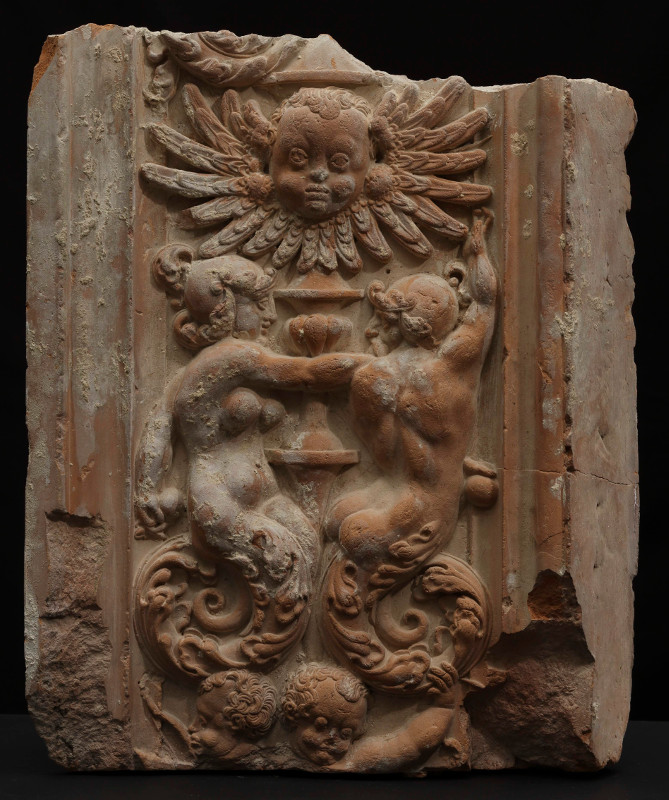 Декоративное оформление проема. Фрагмент. 1554-1560