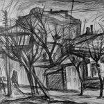 """Геннадий Намеровский """"Деревья и дома"""" 2012"""