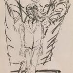 """Кьель Пар-Иверсен """"Человек и ангел I"""" 1996"""