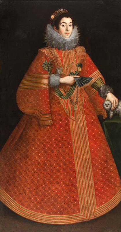"""Неизвестный португальский художник """"Портрет сеньоры"""" Около 1620-1640"""