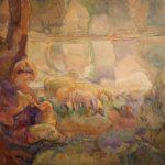 """Александра Коновалова """"Пастушок"""" 1910"""