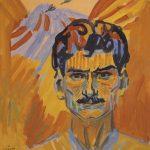 """Мартирос Сарьян """"Автопортрет"""" 1909"""
