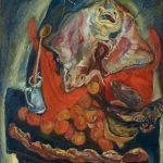 "Хаим Сутин ""Натюрморт со скатом"" 1923–1924"