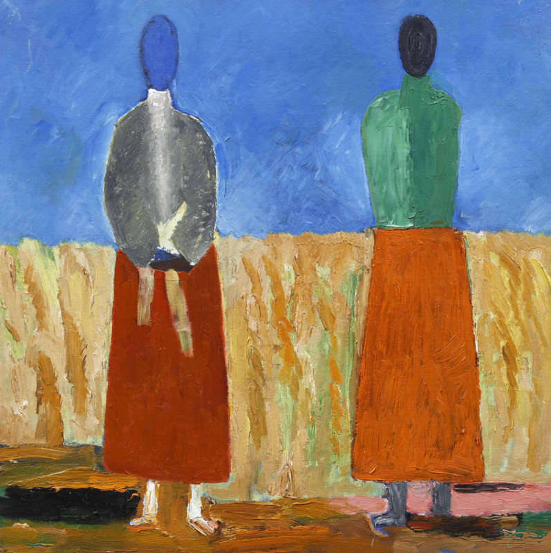 "Эдуард Криммер ""Две крестьянки"" 1929–1932"