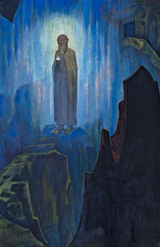 """Николай Рерих """"Свет Небесный"""" 1931"""