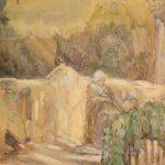 """Александра Коновалова """"На балконе"""" 1900"""