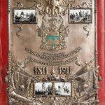 Папка для хранения грамоты к 100-летниму юбилею собственного его императорского величества конвоя 1911