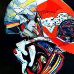 """Белла Левикова """"Активация системы Б. Из серии """"Поля Космических событий"""" 2010"""