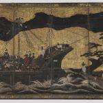 Ширма. Япония, Киото, начало XVII века