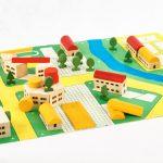"""Набор игрушек """"Юный архитектор"""" 1980-е"""