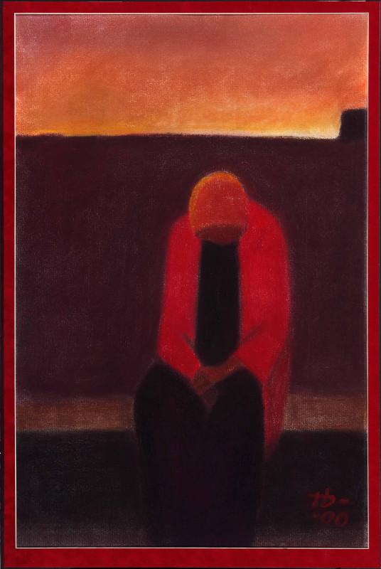 """Пётр Дик """"Одинокая фигура"""" 2000"""