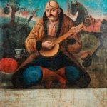 """Неизвестный автор """"Казак Мамай"""" 1-я половина 19 века"""