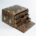 Ларец-кабинет. Индия, Гуджарат, XVII век