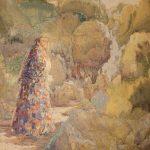 """Александра Коновалова """"К скалам"""" 1900"""