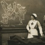 """Неизвестный автор """"Гунн бежит"""" 1914-1918"""