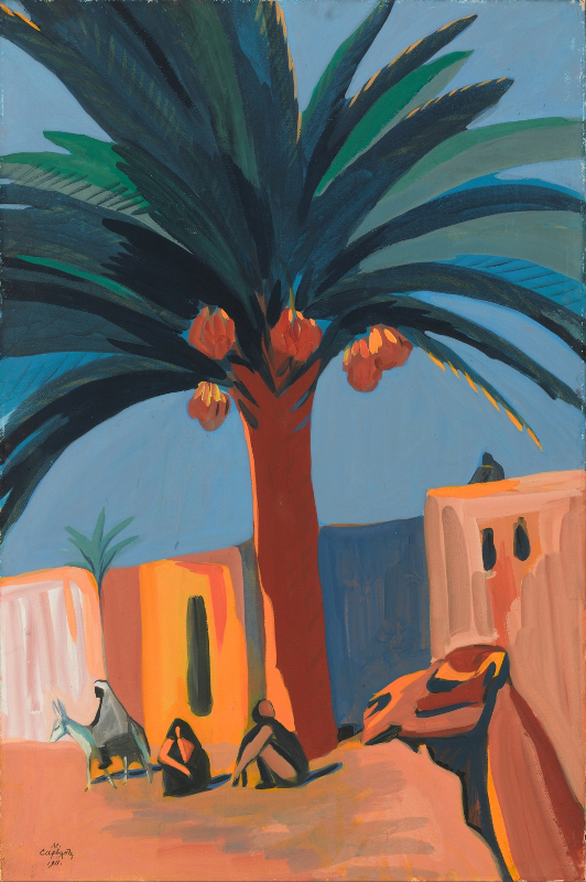 """Мартирос Сарьян """"Финиковая пальма. Египет"""" 1911"""