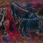 Хсар Гассиев «В поле. Буйволы» 1978