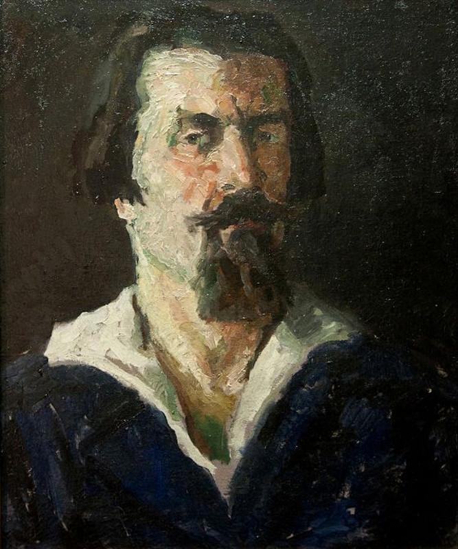 """Казимир Малевич """"Автопортрет"""" 1934"""