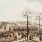 """Карл Кольман """"Восстание на Сенатской площади в Санкт-Петербурге 14 декабря 1825 года"""" 1830-е"""