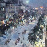 """Константин Коровин """"Париж"""" 1912 Третьяковская галерея"""