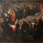 Казбек Хетагуров «Прощание с поэтом» 1979