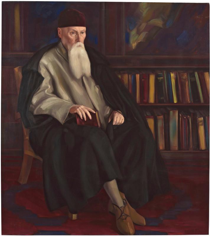 """Святослав Рерих """"Профессор Николай Рерих"""" 1942"""