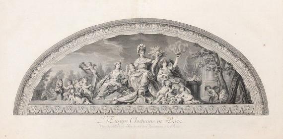 Ш.-Н.-Д.де Бовэ по рисунку Ж.-Б.Массэ с оригинала Ш.Лебрена. Германия.