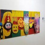 Выставка участников детской творческой студии «ДЭЗ №5» под руководством архитектора Михаила Лабазова.