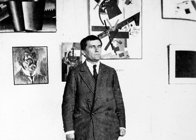 Казимир Малевич, Фотография 1924