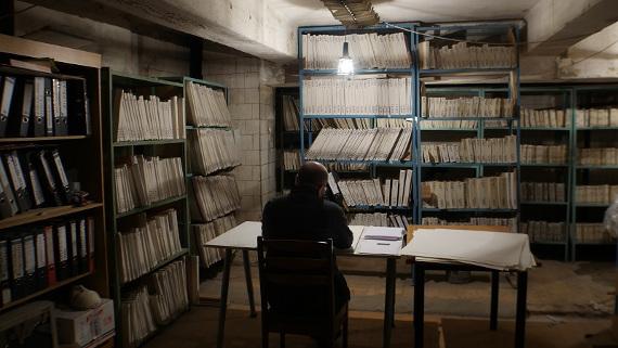 Хаим Сокол. Бумажная память.