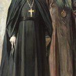 """Павел Корин """"Иеромонах Пимен и епископ Антонин"""" 1935"""