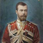 """Неизвестный художник """"Портрет императора Николая II"""" 1895"""
