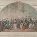 """Михаил Зичи """"Прием в Зимнем дворце 5 апреля 1866 года после покушения на императора Александра II"""" 1866"""