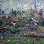 Произведения семей художников в разные годы окончивших МАХЛ.