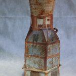 Произведения художников по керамике на зимние темы.