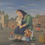 """В. Любаров """"Цветочница"""" 2002"""