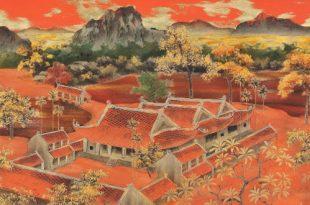 Мерцающие в темноте. Лаковое искусство Вьетнама.