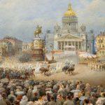 Петербургский художник Василий Садовников (1800 - 1879).