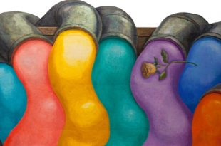 Ликующие краски. Последние работы Андрея Гросицкого.