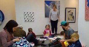 Лабиринты и их обитатели. Новогодняя выставка-квест для детей.